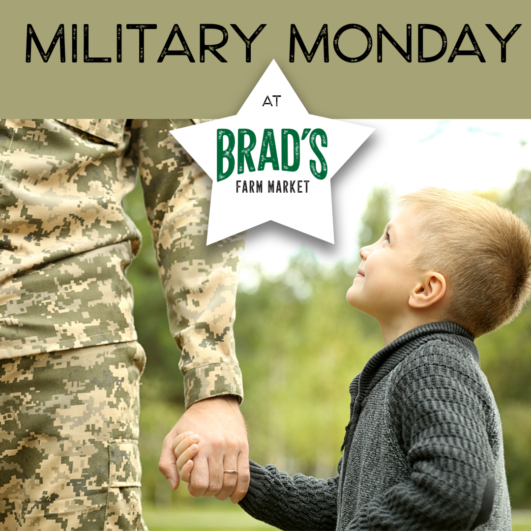 Military Mondays at Brad's